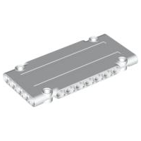 LEGO 64782 - White Technic, Panel Plate 5 x 11 x 1