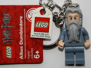 LEGO 852979 - Dumbledore (without glasses) Key Chain