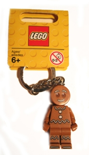 LEGO 851394 - Collectible Minifigures Gingerbread Man Key Chain