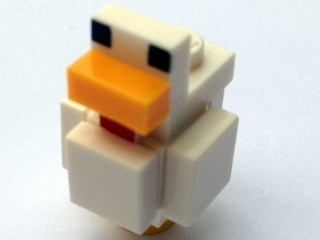 LEGO minechicken01 - Minecraft Chicken - Complete Assembly (21140)