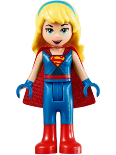 LEGO shg011 - Supergirl - Blue Legs and Red Boots