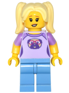 LEGO col259 - Babysitter - Minifig only Entry