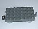 LEGO 31300c03 - Dark Bluish Gray Duplo, Train Base 4 x 8 with Light Bluish Gray Train Wheels and Moveable Hook