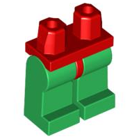 LEGO 970c06 - Red Hips and Green Legs