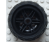 LEGO 56145c04 - Black Wheel 30.4mm D. x 20mm