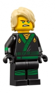 LEGO  njo311 Lloyd - Hair, The LEGO Ninjago Movie (70617)
