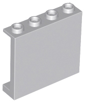 LEGO 60581 - Light Bluish Gray Panel 1 x 4 x 3 with Side Supports