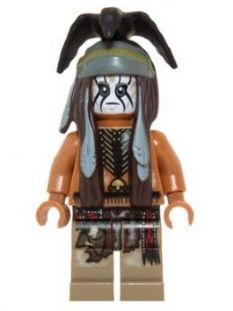 LEGO tlr012 - Tonto - Mine Outfit