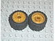 LEGO  55981c01 - Pearl Gold Wheel 18mm D. x 14mm with Pin Hole