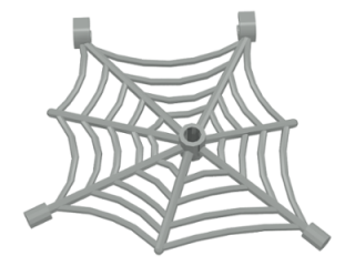 LEGO 30240 Light Gray Spider Web with Clips
