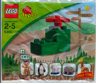 LEGO DUPLO 5485-1 Zoo Animals polybag