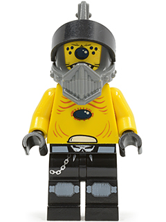 LEGO sp097 Space Police 3 Alien - Snake with Visor