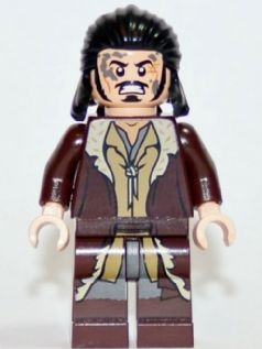 LEGO lor099 Bard the Bowman, Angry with Mud Splotches