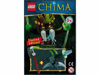 LEGO LOC391403-1 Cannon, Chi and Axe foil pack