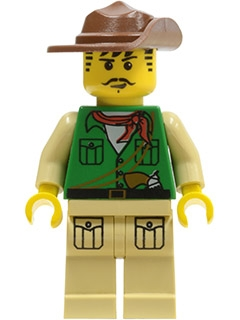 LEGO adv024 Johnny Thunder