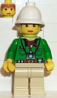 LEGO adv034 Pippin Reed - Shirt and Camera