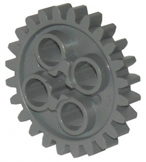 LEGO 3648 Dark Bluish Gray Technic, Gear 24 Tooth