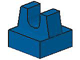 LEGO 2555 Blue Tile, Modified 1 x 1 with Clip