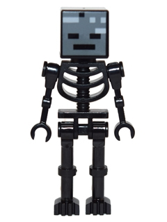 LEGO min025 Wither Skeleton