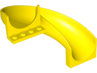 LEGO 11267 Yellow Slide, Playground 6 x 12 x 8 Curved 180 degrees