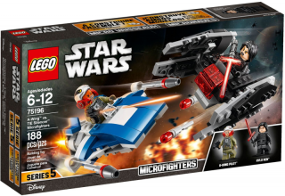 LEGO 75196-1 A-Wing vs. TIE Silencer Microfighters