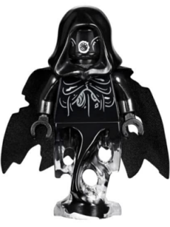LEGO hp155 Dementor, Black with Black Cape