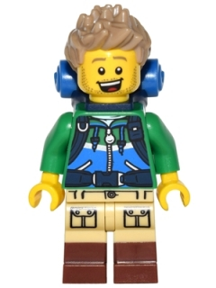LEGO col249 Hiker - Minifigure only Entry
