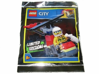LEGO 951905-1 Firefighter Woman with Helicopter foil pack