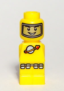 LEGO 85863pb012 Microfigure Lunar Command Yellow