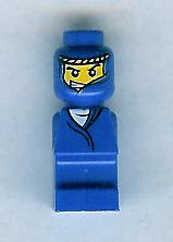 LEGO 85863pb009 Microfigure Ramses Pyramid Adventurer Blue