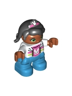 LEGO 47205pb045 Duplo Figure Lego Ville, Child Girl