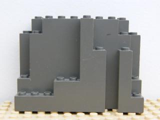 LEGO 6082 Dark Bluish Gray Rock Panel 4 x 10 x 6 Rectangular