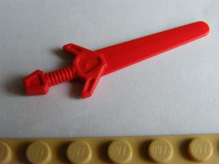 LEGO 48495  Red Minifigure, Weapon Sword, Greatsword Angular