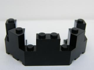LEGO 6066 - Black Castle Turret Top 4 x 8 x 2 1/3