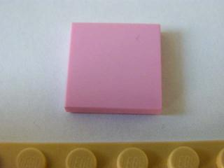 LEGO 3068b - Bright Pink Tile 2 x 2 with Groove