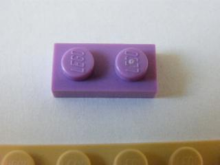 LEGO 3023 Lavender Plate 1 x 2