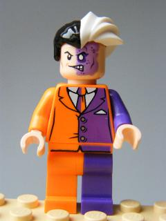 LEGO Super Heroes - Two-Face, Orange and Purple Suit
