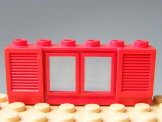LEGO 646 - Window 1 x 6 x 2 with Shutters
