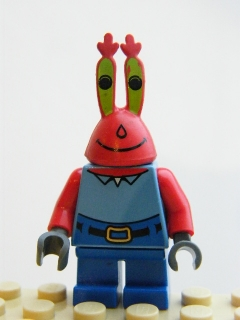 LEGO SpongeBob - Mr. Krabs - Large Grin