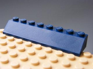 LEGO 4445 - Dark Blue Slope 45 2 x 8