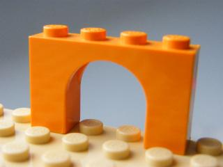 LEGO 6182 - Orange Brick, Arch 1 x 4 x 2