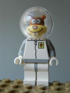 LEGO SpongeBob SquarePants - Sandy Cheeks