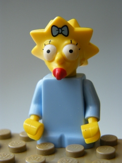 The Simpsons - Maggie