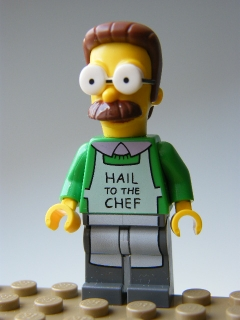 The Simpsons - Ned Flanders with Apron
