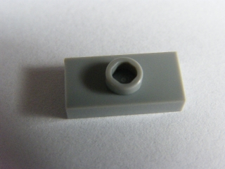 LEGO 15573 - Light Bluish Gray Plate, Modified 1 x 2
