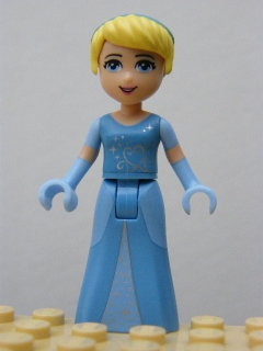 LEGO PRINCEZNA dp008 - Cinderella - Two-Colored Dress