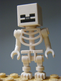 LEGO MINECRAFT 011 - Skeleton with Cube Skull