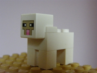 LEGO MINECRAFT - OVCE