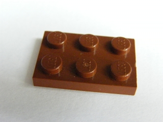 LEGO 3021 Reddish Brown Plate 2 x 3