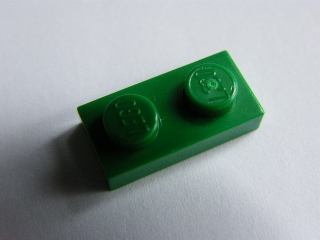 LEGO 3023 Green Plate 1 x 2